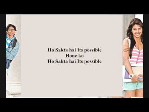 Pyaar Impossible.full song with lyrics - YouTube