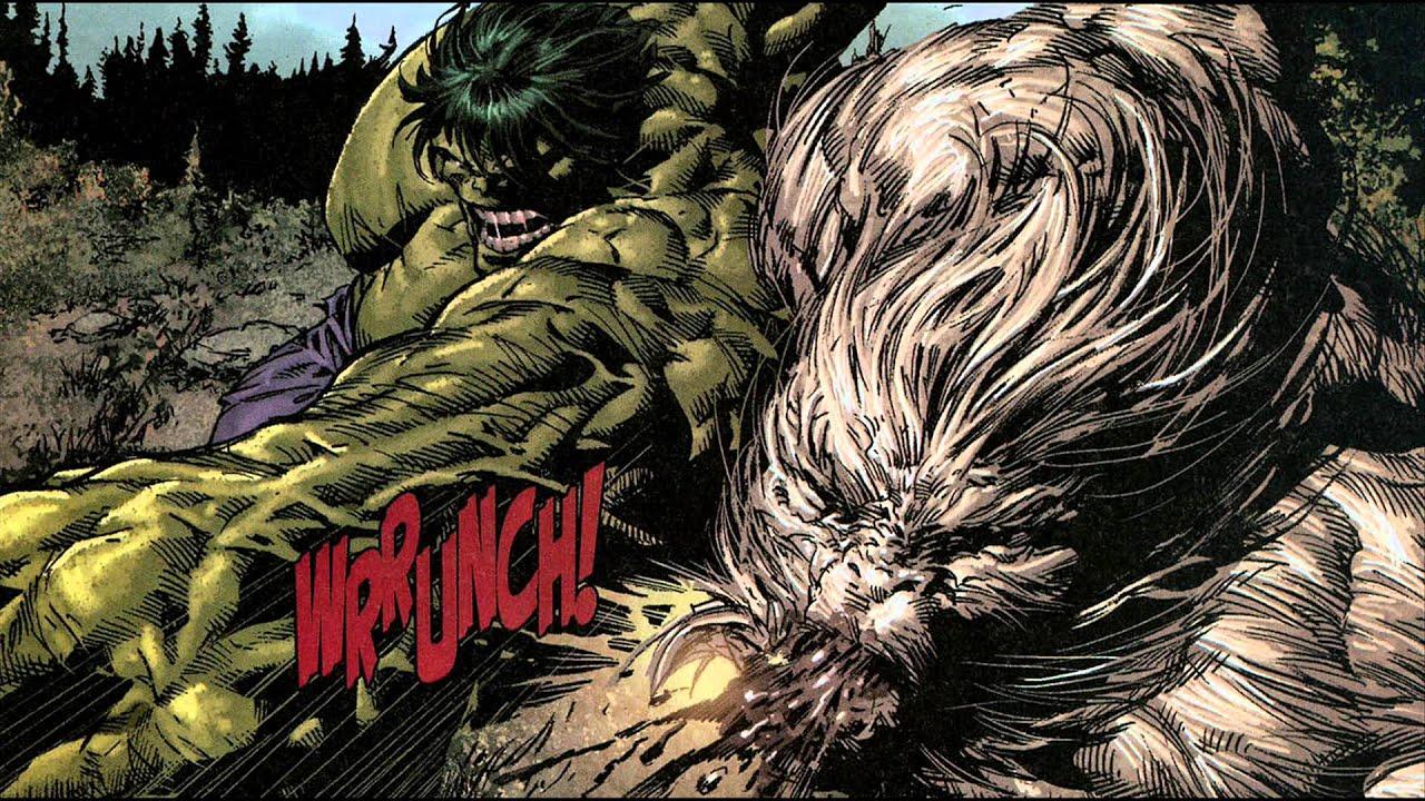 hulk vs wolverine amp wendigo youtube
