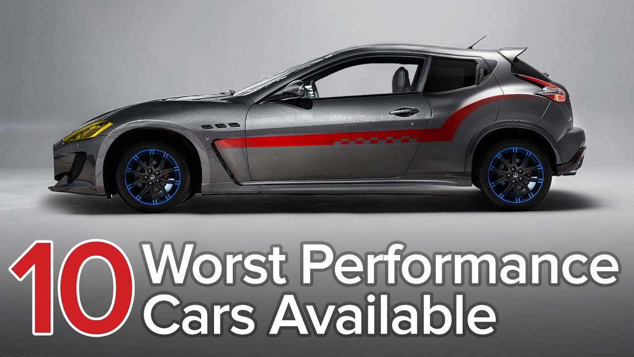 Top 10 Worst Performance Cars: The Short List » AutoGuide