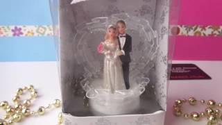 Готовимся к свадьбе. Свадебная фигурка - стильное украшение на свадебный торт