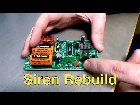 Saab Alarm Siren Rebuild, Battery Replacement (Fix Random Alarms) – Trionic Seven