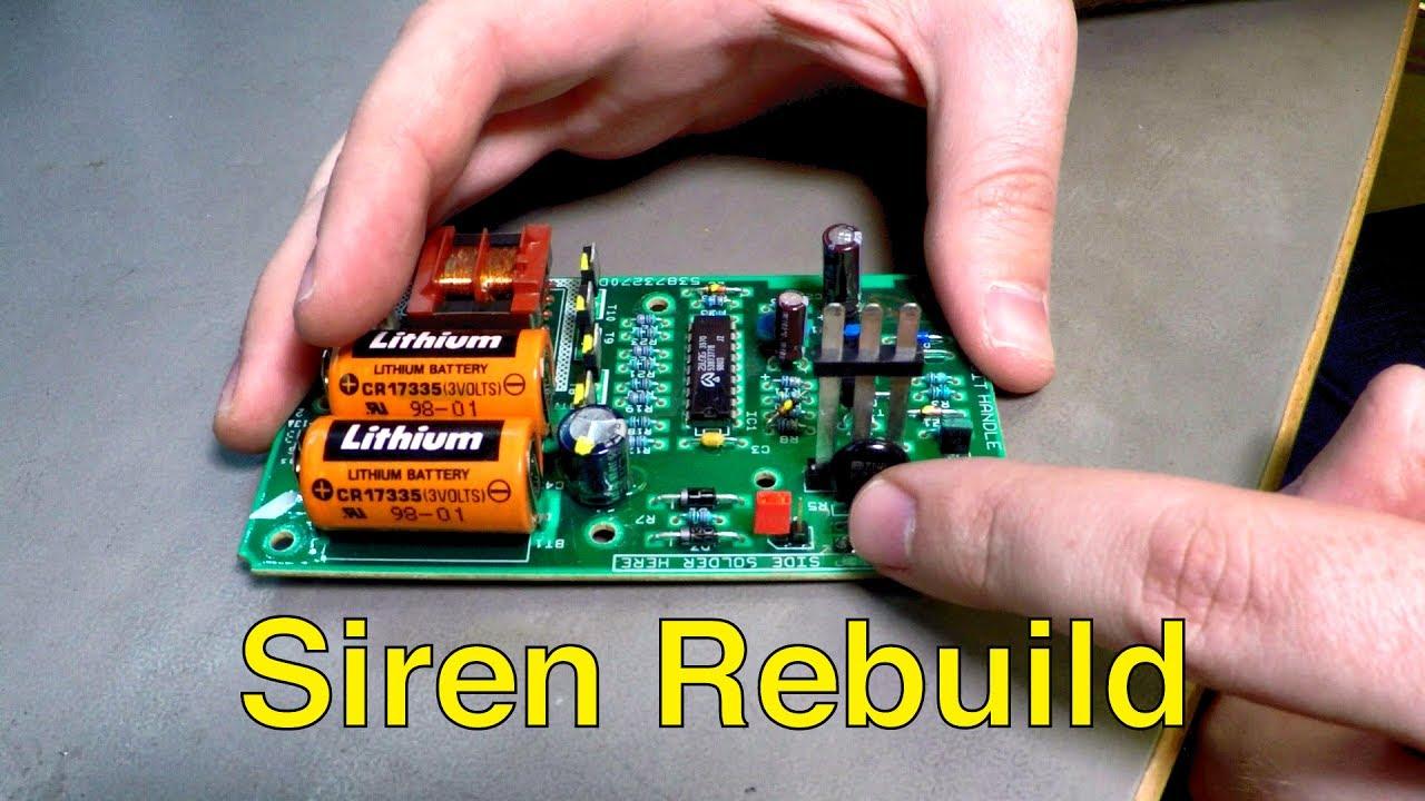Saab Alarm Siren Rebuild, Battery Replacement (Fix Random Alarms) - Trionic  Seven