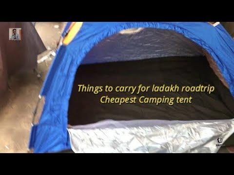 Cheapest Camping Tent, Bags Surplus, Sleeping Bag , Azad Market Delhi...Ladakh Trip