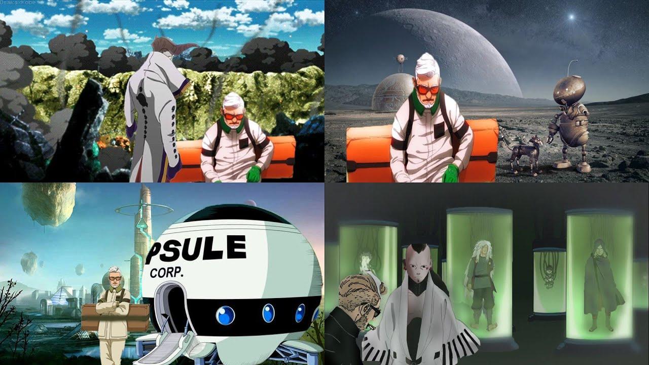Tau segala hal tentang Otsutsuki - inilah identitas sebenarnya dari Amado sang ilmuan kara