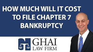 How Much Will it Cost to File Chapter 7 Bankruptcy in Kennesaw?