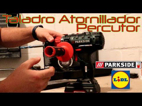 Unboxing LIDL Atornillador Taladro a Bateria 20v Percusion PSBSA 20 Li B2
