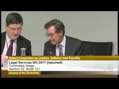 Legal Services Regulation Bill 2011, Committee Stage (resumed), Part 2