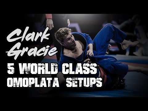 5 World Class Omoplata Setups by Clark Gracie