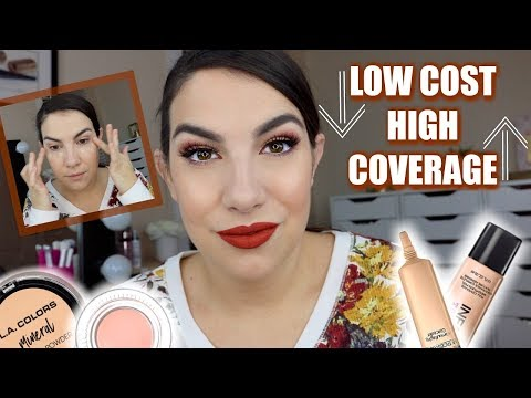 BEST FULL COVERAGE DRUGSTORE MAKEUP | Hot Items + Hidden Gems