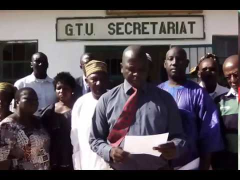 The Gambia Teachers Union Press Release on the political situation inthe Gambia part 2