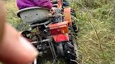 TZ 4 K 14 s motorem KUBOTA D 1105 orajda - YouTube