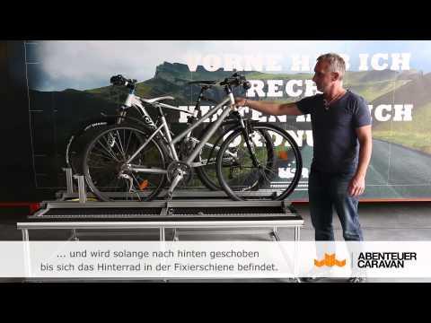Fahrradträger Wohnmobil Heckgarage von  Abenteuer-Caravan.de