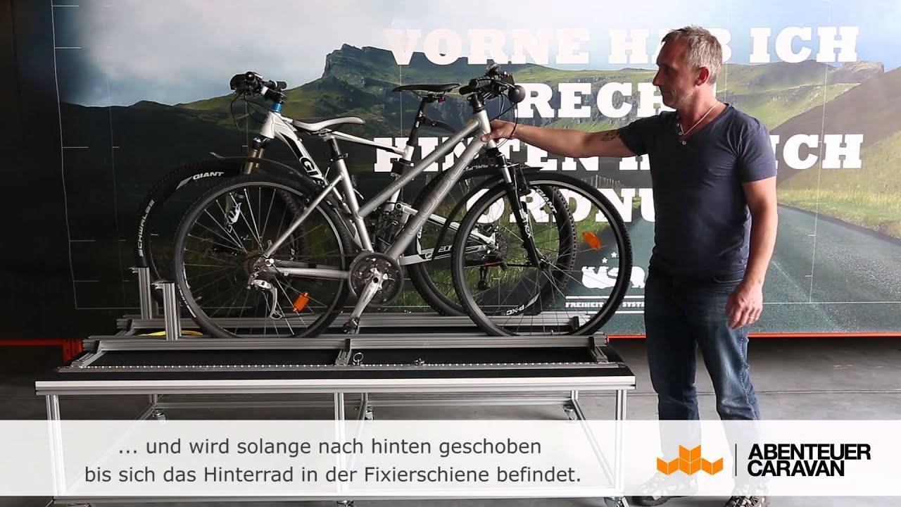 fahrradtr ger wohnmobil heckgarage von abenteuer caravan. Black Bedroom Furniture Sets. Home Design Ideas