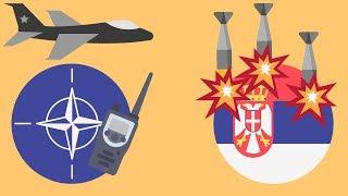 Почему НАТО бомбили Сербию ?