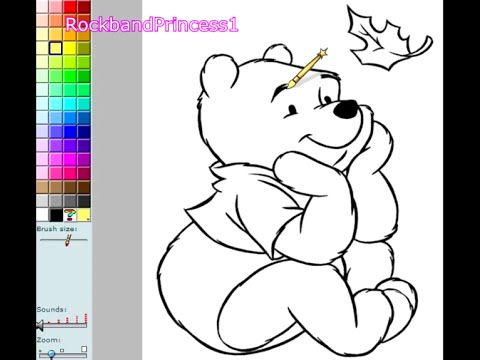 Pooh Coloring Pages For Kids - Pooh Coloring Pages