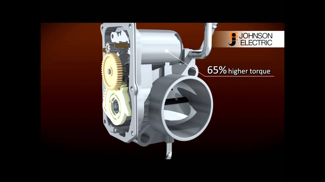 DC Motor for Electronic Throttle Control (ETC) - YouTube