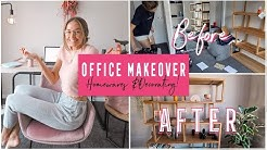 DAILY LIFE | Creating my DREAM Office + Decorating and Organising My Life