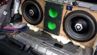 2 hdc4 12's on two AQ3500.1's. Bass knob at 1/4.