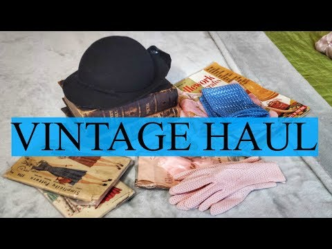 Vintage Thrift Store & Antique Mall HAUL
