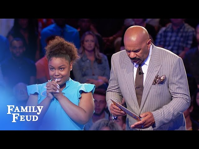 Fast money. One answer left. Can Juzet get 26 points? | Family Feud