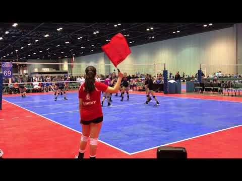 2018 PBJ13Elite vs USA South Set 1 (20-25): Disney - Championship Win