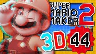 UN SUPER STAGE EN 3D ! | SUPER MARIO MAKER 2 EPISODE 44 NINTENDO SWITCH