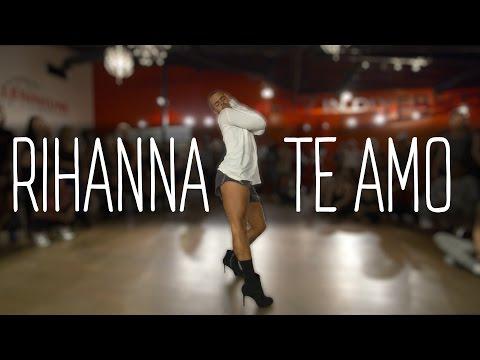 "YANIS MARSHALL HEELS CHOREOGRAPHY ""TE AMO"" RIHANNA.  MILLENNIUM DANCE COMPLEX LOS ANGELES"