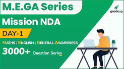 M.E.G.A (Mathematics-English-General Awareness)| A 3000+ Question Series | Day-1 | Gradeup