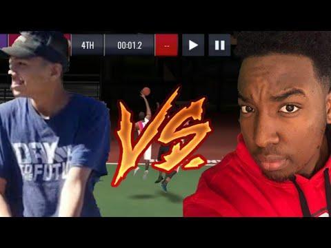 1V1 VS ULTIMATE BUCKEYE (Both Perspectives) NBA LIVE Mobile