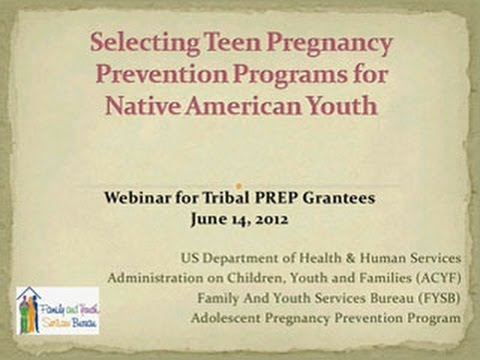 Selecting Teen Pregnancy Prevention Programs for Native ...