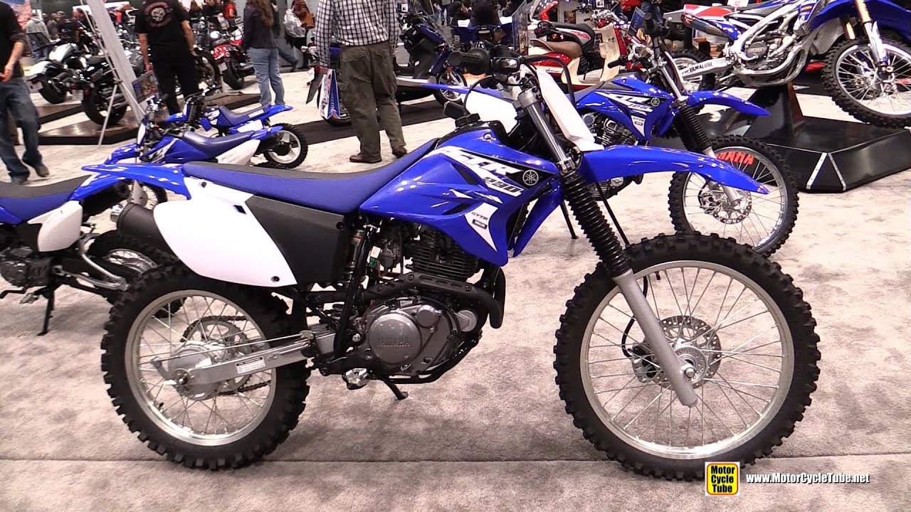 2015 Yamaha Tt R 230 Motocross Bike Walkaround 2014