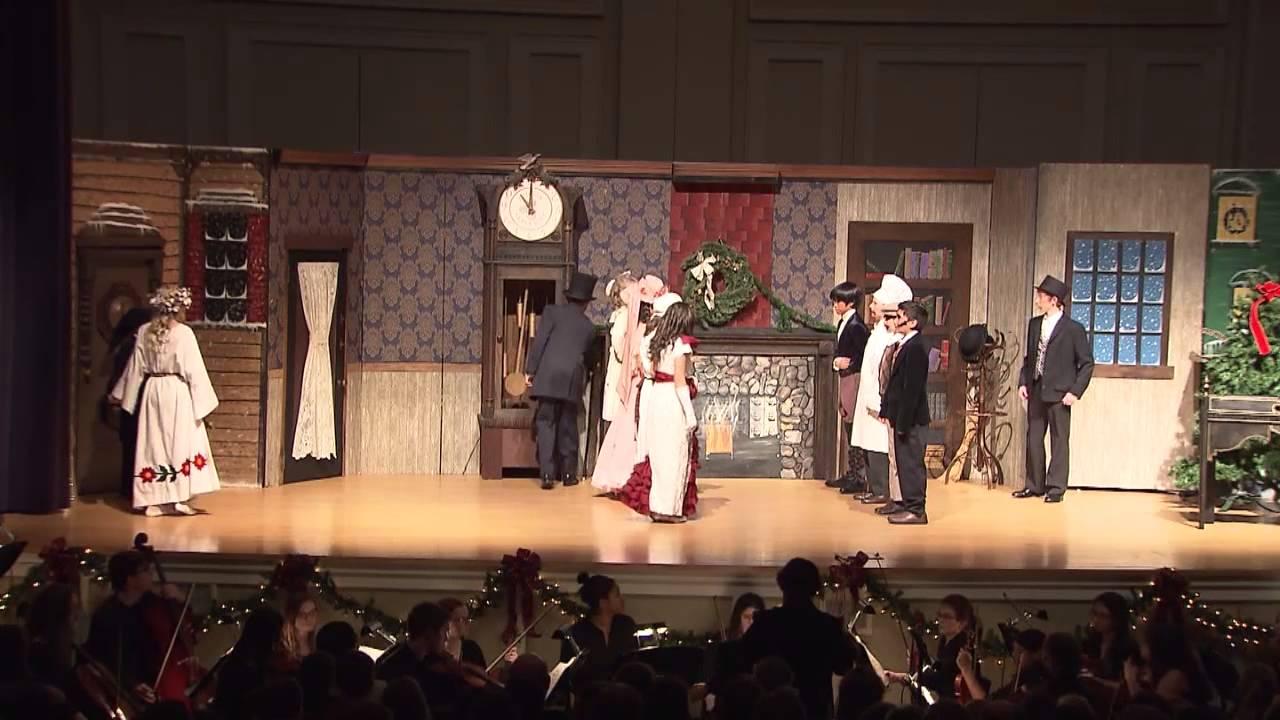 Blandford School   A Christmas Carol 2013 - YouTube