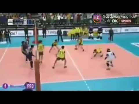 Story WA .  Volleyball Lucu.  Komentator Bahasa Jawa Lucu Banget. Libero Terkece