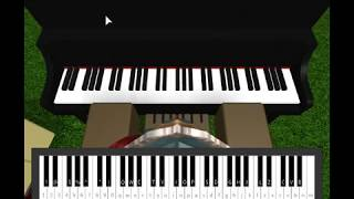 Roblox Piano-Logic ft. Alessia Cara & Khalid - 1-800-273-8255|Half|(Notes In Description)