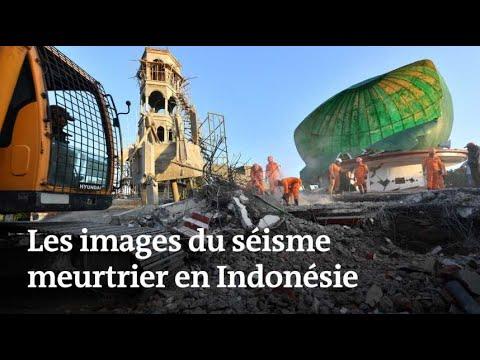 Indonésie : les images du séisme meurtrier