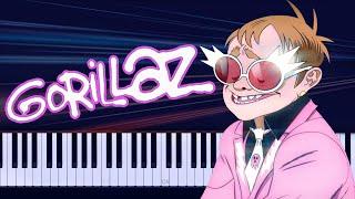 Gorillaz - The Pink Phantom ft. Elton John & 6LACK Piano Tutorial