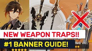 NEW Weapon Banner Is a TRAP?! 3 NEW Events Details & Weapon Guide! | Genshin Impact