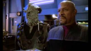 Captain Sisko Losing His Temper