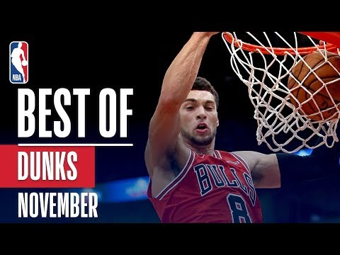 NBA's Best Dunks | November 2018-19 NBA Season