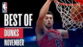 NBA's Best Dunks | November 2018-19 NBA Season