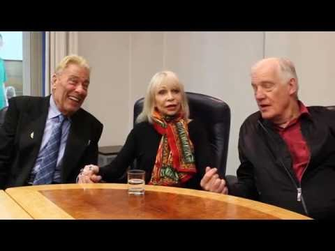 DOCTOR WHO's JOHN LEVENE, KATY MANNING & RICHARD FRANKLIN interviewed by Martin Parsons (2016)