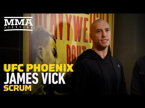 James Vick says a lot of UFC fighters are 'optimistic' about possibility of 165-pound division