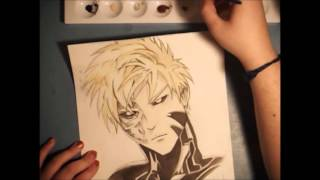 "Speed Paint Genos- ""One Punch Man"""