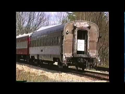 NHN gravel train with caboose and a passenger extra 05/04/1991