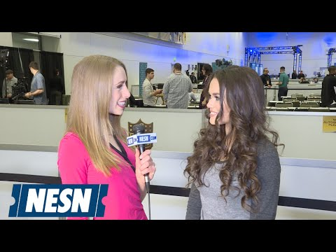 Madison Pettis On Super Bowl 50 Radio Row