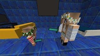 MELİS VE MİRA KAVGA EDİYOR ! ! ! KAAN STYLE ÇILDIRDI 😱 -Minecraft