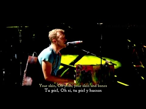 Coldplay - Yellow (Letra Traducida) Live 2012