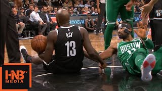 Kyrie Irving vs Quincy Acy / Quincy Acy Is Not Happy :D