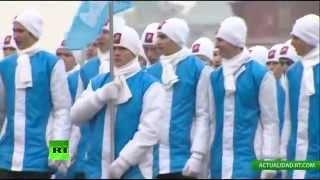 Rusia celebra el 73.º aniversario del histórico desfile del 7 de noviembre de 1941