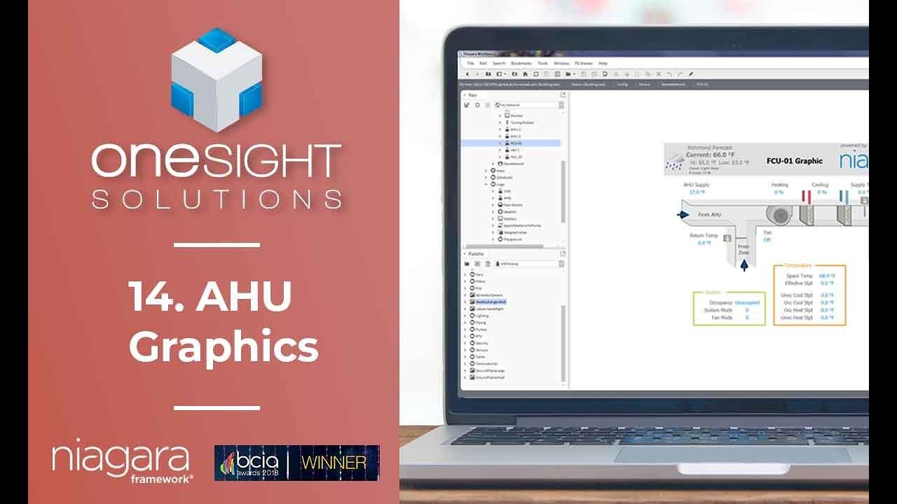 14  AHU Graphics - Niagara 4 Video Training